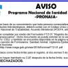 Programa Nacional de Sanidad Acuícola PRONASA