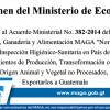 Dictámen del Ministerio de Economía con Relación al Acuerdo No. 382-2014