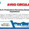 Aviso Dirigido a Productores Pecuarios, Ganaderos y Expositores por Presencia de Fiebre Aftosa en Colombia