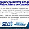Cuarentena Precautoria por Brote de Fiebre Aftosa en Colombia