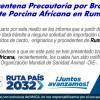 Cuarentena Precautoria por Brote de Peste Porcina Africana en Rumania