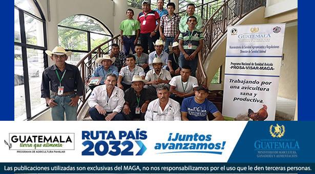 """Taller de Capacitación """"Enfermedades de la Avicultura de Traspatio en Guatemala,"""