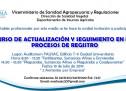 Curso de Actualización y Seguimiento en los Procesos de Registro