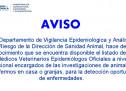 Médicos Veterinarios Epidemiólogos Oficiales a Nivel Nacional