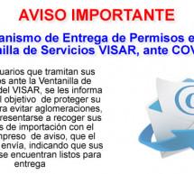 Agilización en la Entrega de Permisos en Ventanilla de Servicios VISAR