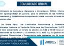 Certificados Fitosanitarios y Zoosanitarios para Exportación
