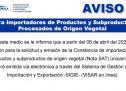 Gestión y Emisión de Constancia de Importación (Nota SAT) para Productos y Subproductos de Origen Vegetal