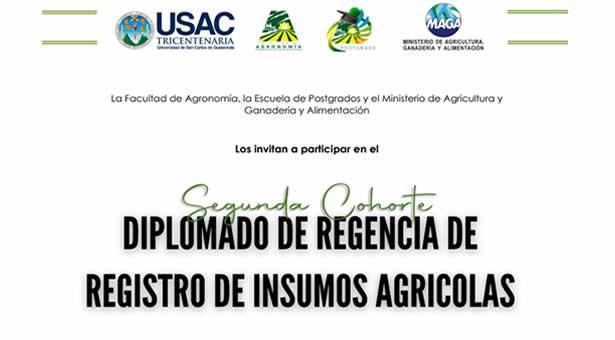 Segunda Promoción de Regencia de Registro de Insumos Agrícolas
