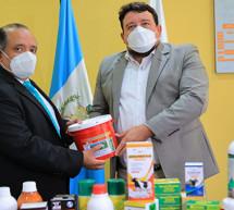 Petén recibe apoyo para fortalecer la sanidad animal